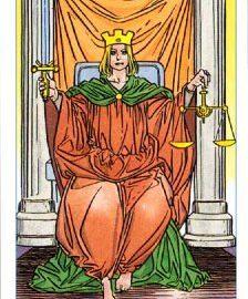 Работа с арканом 11 Правосудие.