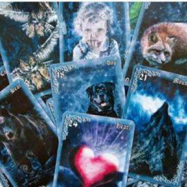 Пара карт из оракула «Дыхание ночи»