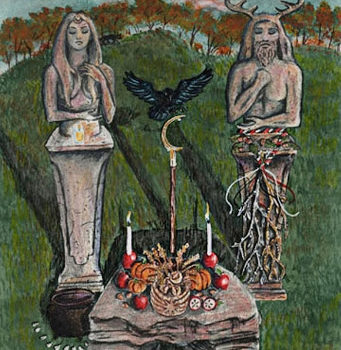 """Мабон в викканском оракуле """"Скрытый путь""""/ Ритуал на Мабон"""