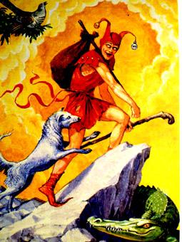 Старшие Арканы как Путь Шута